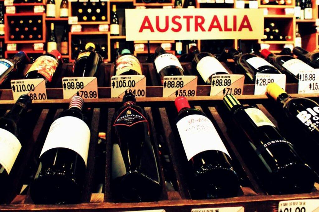 澳大利亚葡萄酒出口